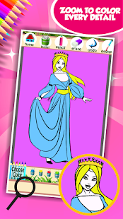 Královna krásy omalovánky - náhled