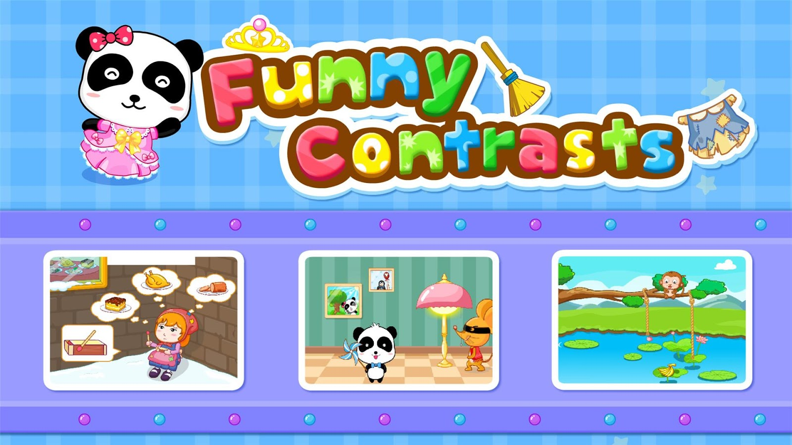 Funny Contrasts -Free for kids- screenshot
