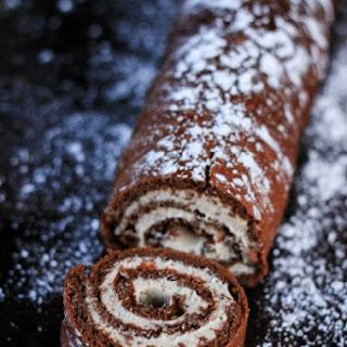 Chocolate Roulade Recipe (Gluten Free and Paleo)