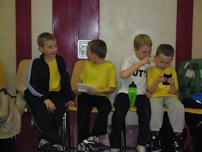Photo: En attendant les résultats: Evan, Pierre, Adrien et Rémy