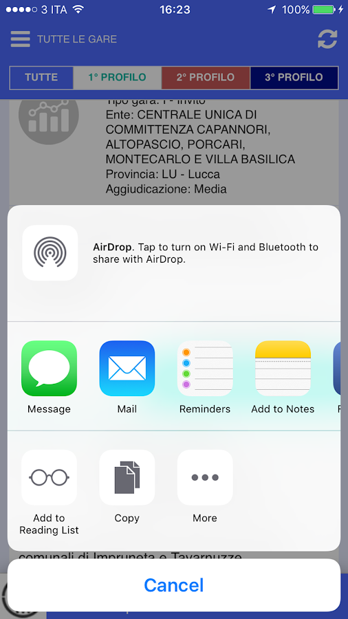AppAlti- screenshot