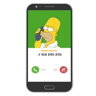 call from homer simpson - náhled