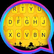 Halloween Night Theme&Emoji Keyboard