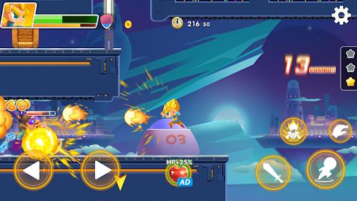 Hero the Man - Transform to Super Z SSJ Warriors 1.6.0.186 screenshots 3