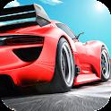 Скорость гоночный автомобиль в icon