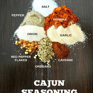 DIY Cajun Seasoning.