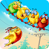 Birds On A Wire: Free Match 3