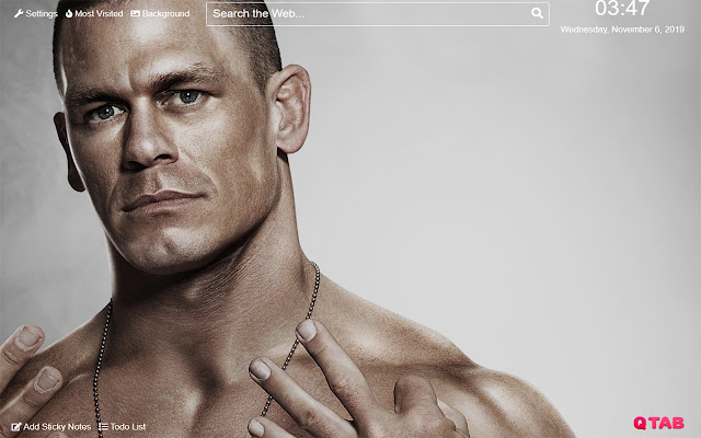 John Cena Wallpaper for New Tab