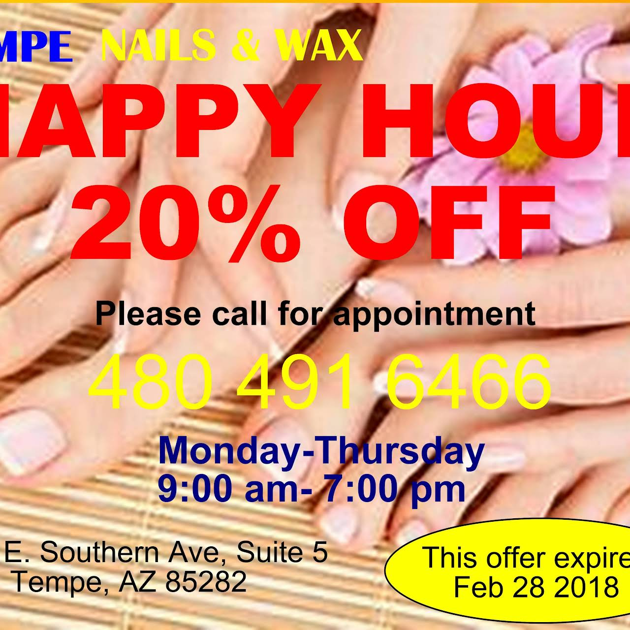 Tempe Nails and Wax - Nail Salon in Tempe