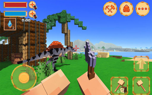 Blocky Ark Survival 3D screenshot 3