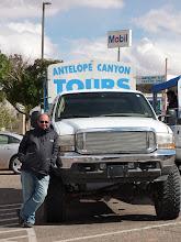 Photo: Page, il faut attendre avant le départ vers l'Antelope Canyon
