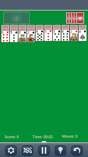 Spider Solitaire Classic apkpoly screenshots 1