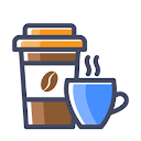 California Coffee, Brodipet, Guntur logo