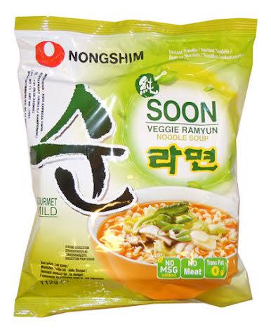 Soon Veggie Noodles 112g Nongshim