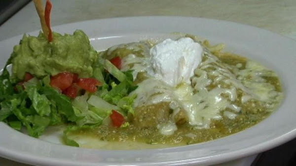 Easy Enchiladas Verdes Recipe
