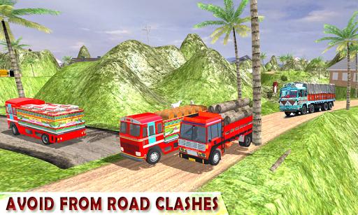 Indian Cargo Truck Driver Simulator apkpoly screenshots 10