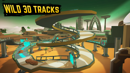 Gravity Rider: Space Bike Racing Game Online for PC-Windows 7,8,10 and Mac apk screenshot 5