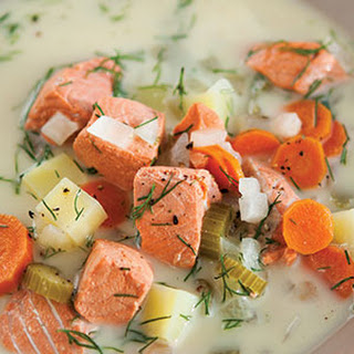 Scandinavian Salmon Stew.