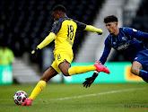 Het langverwachte debuut van 16-jarig monstertalent bij Borussia Dortmund werd volledig overschaduwd door Golden Boy Haaland