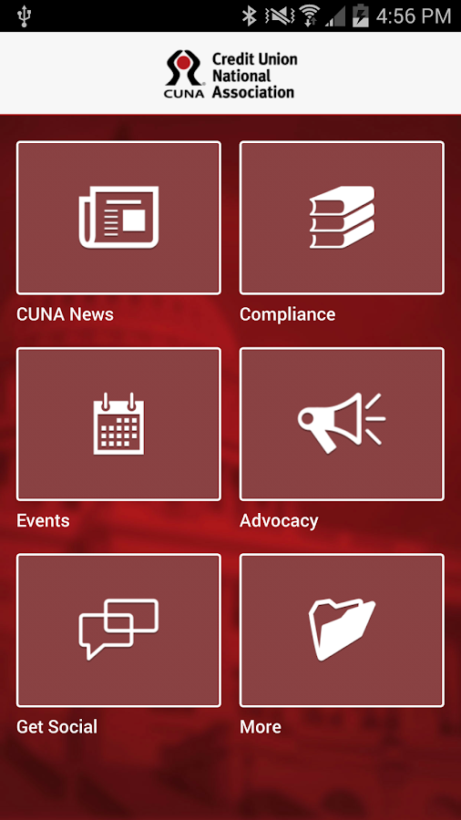 CUNA Advocacy- screenshot