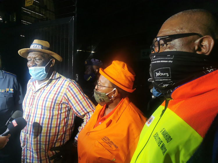 Police minister Bheki Cele led various law enforcement agencies on an operation to bust entertainment venues that were breaking lockdown regulations.
