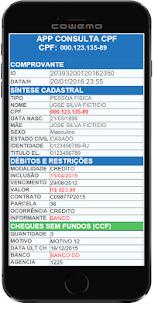 Consultar CPF Dividas screenshot