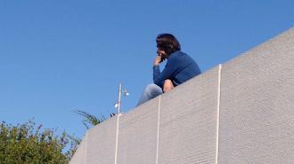 Ibán Andrés no duda en subirse por las paredes para conseguir un buen fichaje.