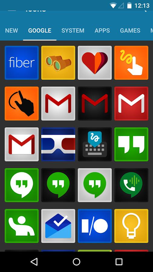 Viper - Icon Pack- tangkapan layar