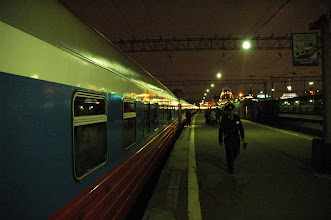 Photo: Departure time for the Trans-Siberian