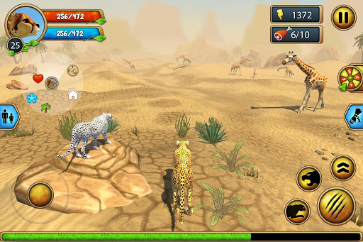 Cheetah Family Sim - Animal Simulator 4.7 screenshots 24