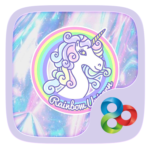 Rainbow Unicorn GO Theme