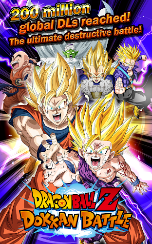 DRAGON BALL Z DOKKAN BATTLE Android App Screenshot