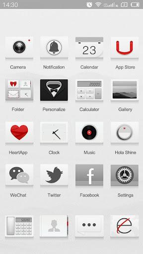 無料个人化Appのクリームホワイト Hola Launcher テーマ|記事Game