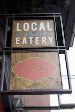 Photo: Later that evening we head to our friend Yaron's restaurant  Local Mission Eatery (which we are excited to be investor's in).