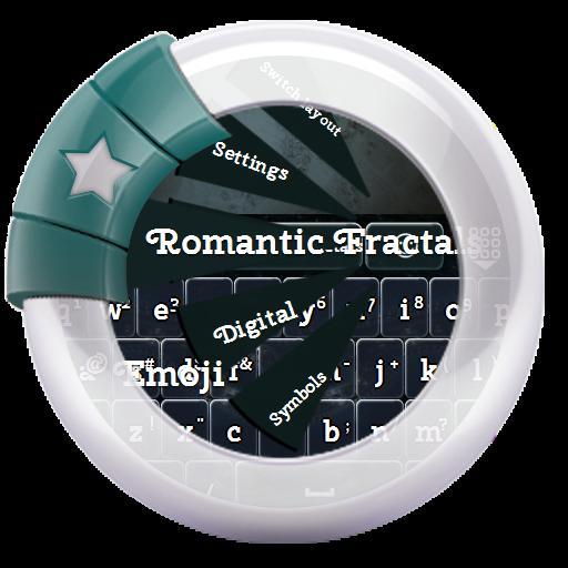 ロマンチックフラクタル GO Keyboard 個人化 App LOGO-APP試玩