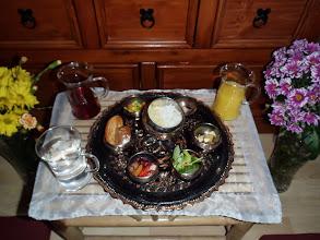 Photo: puja (obětiny) - offerings