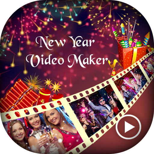 Happy New Year Video Maker - New Year Video Editor
