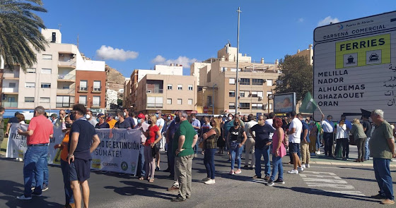 Los agricultores almerienses, contra Marruecos