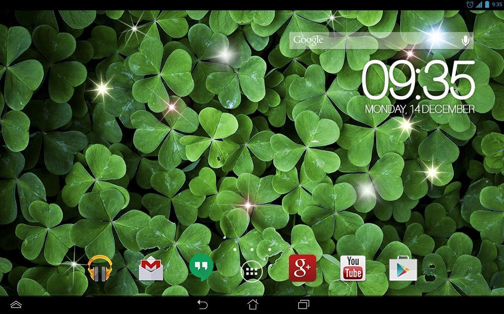 green clover wallpaper - photo #13