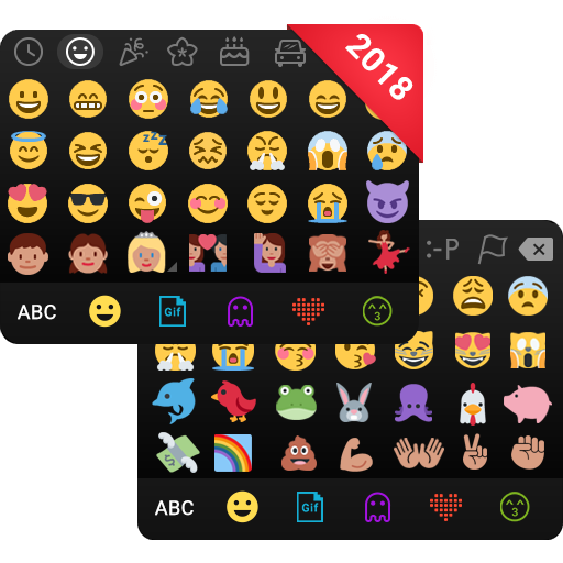 Emoji keyboard - Cute Emoticons, GIF, Stickers (app)