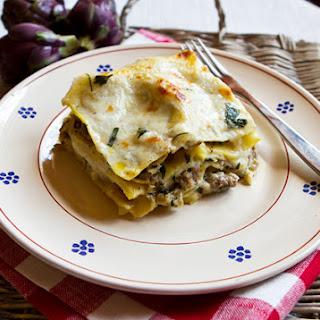 Sausage & Artichoke Lasagna