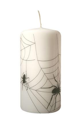 Ljus med spindelnät