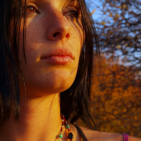 Sunshine Girl by Vanessa Latrimurti - People Portraits of Women ( jewelry, beauty, freckles )