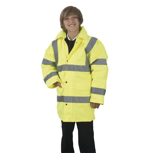 Childrens Hi Vis Parka Jackets
