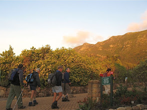 Photo: Spilhaus ridge is accessed either from Kirstenbosch or Constantia Nek