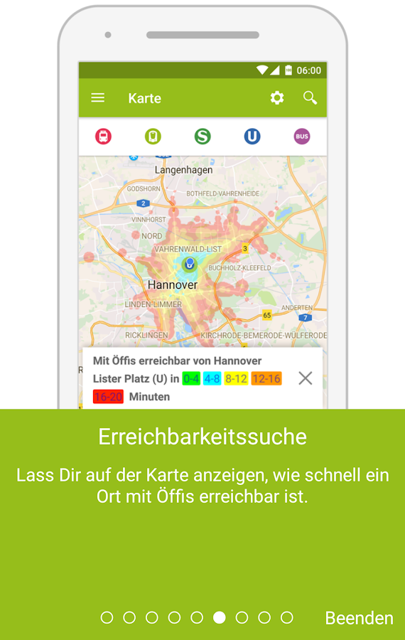 MyHannover – Screenshot
