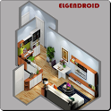 3D Small House Plan icon