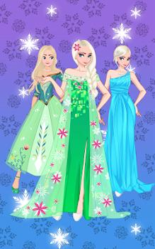 ❄ Icy dressup ❄ Frozen land