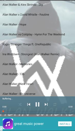 Popular Songs Alan Walker 3.4 screenshots 1