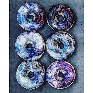 Vegan Galaxy Donuts.